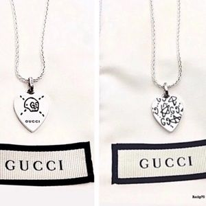 New Authentic Gucci Ghost Skull Charm + Free Chain